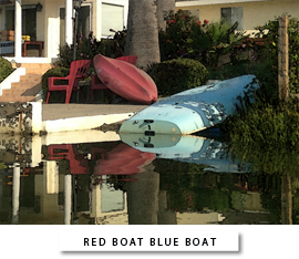 Red Boat Blue Boat